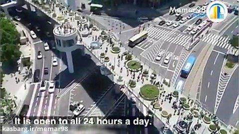 معمارى طرح اولیه پلی با طراحی متفاوت در سئول
