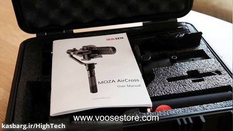 بررسی Moza AirCross Gimbal