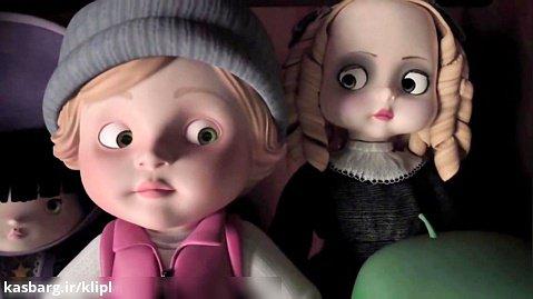 * انیمیشن کوتاه ترسناک آلما | کانال گاد