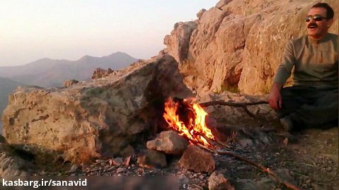 قله کوه بابوس شهر بانه