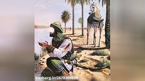نوحه عزاداری  - دو مشک تشنه جرعه آبی ست  - خواننده علی سیار