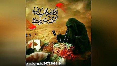 نوحه سینه زنی  - الوداع ای زینب غم پرورم  - خواننده علی سیار