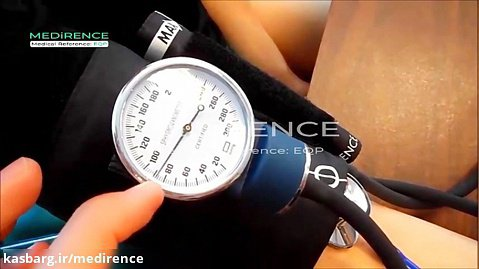 آموزش نحوه گرفتن فشار خون با گوشی پزشکی بطور ساده