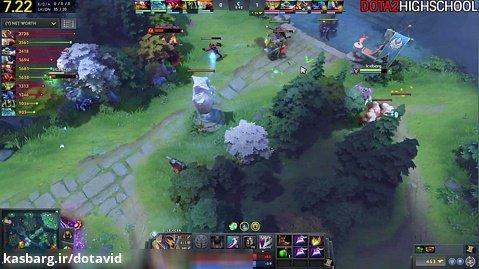 ICEBERG [Silencer] Super Mid Right Click Build 20 Kills No Mercy 7.22 Dota 2
