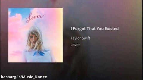 آهنگ زیبای Taylor Swift به نام I Forgot That You Existed با زیرنویس فارسی