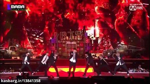 اجرای زنده We Are Bullet Proof.2 از BTS در MAMA 2019 بازیرنویس فارسی