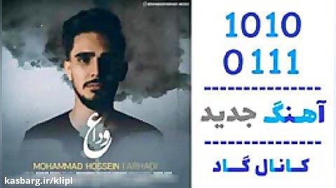 اهنگ محمدحسین فرهادی به نام وداع - کانال گاد