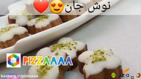 طرز تهیه شیرینی مینیاتوری موکا