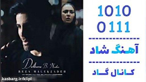 اهنگ رضا ملک زاده به نام دلبر بی نشان - کانال گاد