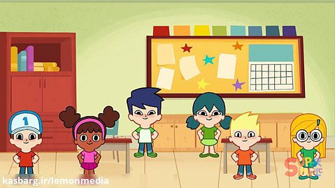 اموزش انگلیسی برای کودکان - the super simple show