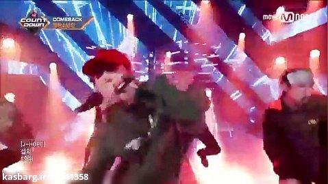 اجرای آهنگ mic drop از بی تی اس(BTS)