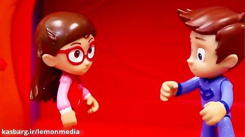 انیمیشن عروسکی گروه شب نقاب - romeo