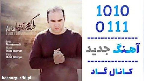 اهنگ آریا حمدالله زاده به نام دلگیرم از دنیا - کانال گاد