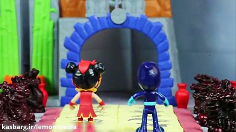 انیمیشن عروسکی گروه شب نقاب-حلقه نینجایی