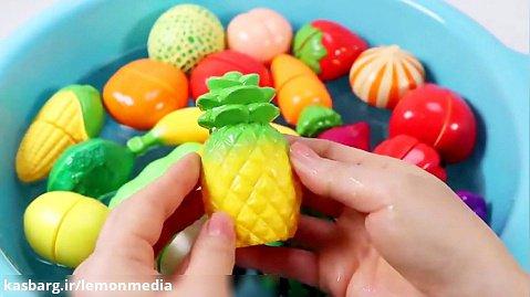 اموزش انگلیسی برای کودکان - میوه و سبزیجات
