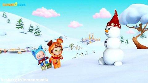 اموزش انگلیسی برای کودکان - ten little snow flake