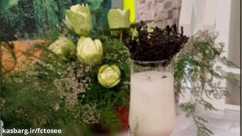 آموزش فراپه موز و آناناس بخش اول | میوه آرایی | آشپزی