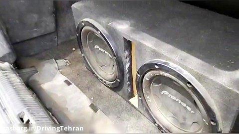 نصب سیستم صوتی بزرگ و حرفه ای روی ماشین