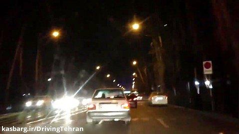 شبگردی در خیابانهای پایتخت با آهنگ رضا صادقی