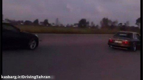 مسابقه درگ سرعت بالا در جاده
