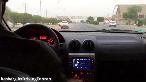 رانندگی با سرعت بالا و لایی کشیدن در خیابانها