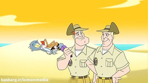 کارتون تام و جری - سفر به استرالیا