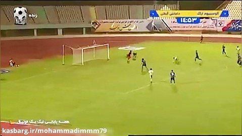خلاصه بازی آلومینیوم اراک 1 - داماش گیلان 0_جشن صعود.