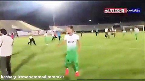 جشن صعود اراکیها در ورزشگاه امام خمینی_
