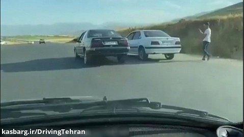 مسابقه درگ دو پژو پارس