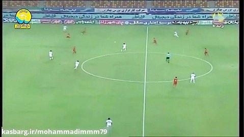 خلاصه بازی فولاد 1 - تراکتور 0/هفته پایانی لیگ برتر ایران.