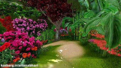 اولین شبیه سازی باغ گل در ژاپن