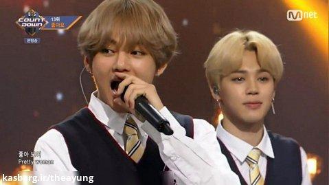 اجرای اهنگ I Like It از گروه BTS در مراسم M COUNTDOWN 2017