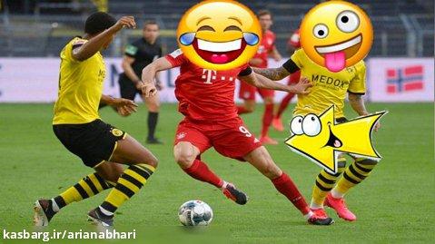 سوتی های جالب و تفریحی  در فوتبال